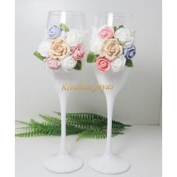 """Copas para bodas """"Floral"""""""