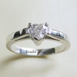 """Anillo de compromiso """"Heart diamond"""""""