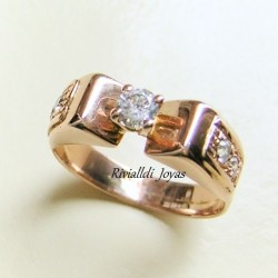 "Anillo de compromiso ""Virginia-B"""