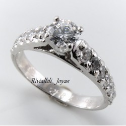 "anillo de compromiso ""Devora"""