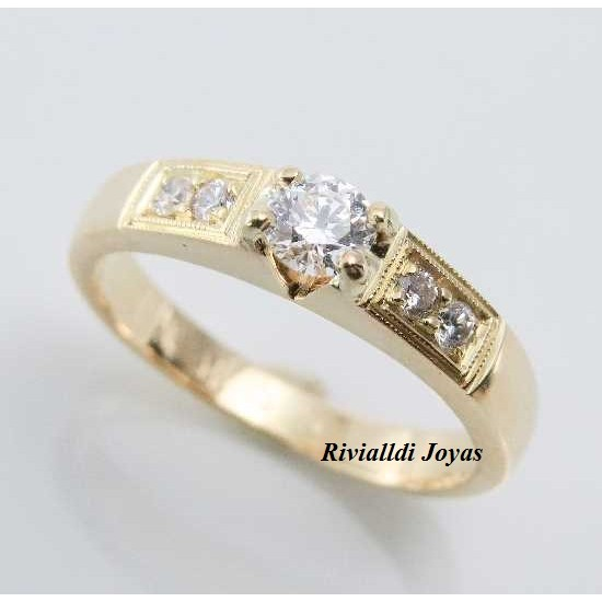 """anillo de compromiso """"Bahar"""""""