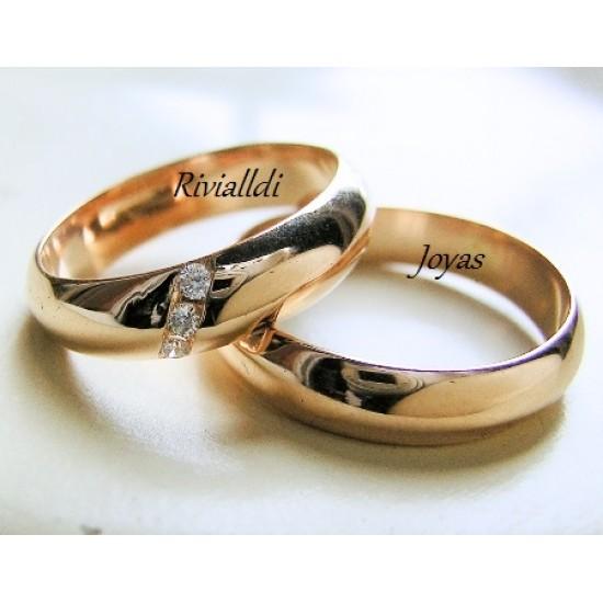 """Alianza matrimonial """"Eterna"""""""