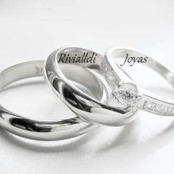 "alianza matrimonial set ""Bellsy"""