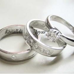 """Alianza matrimonial set """"Betania"""""""