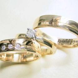 "alianza matrimonial set ""Marqueza"""