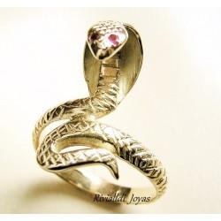 """anillo serpiente """"Cobra Real"""""""