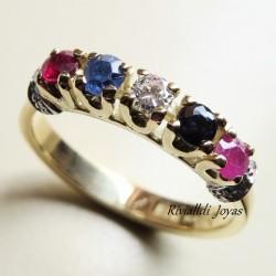 "anillo ""Indira"""