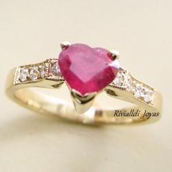 """anillo con rubi """"Rubí Pasión"""""""