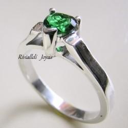 "anillo con esmeralda ""Esperanza"""